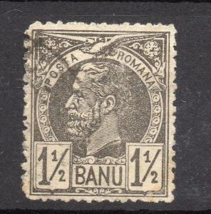 Romania 1885 Carol Early Issue Fine Used 1.5b. 178110