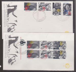 Netherlands - 1982 Child Welfare First Day Covers