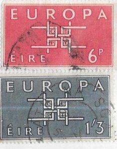 Ireland #188-189  32p EUROPA   (U) CV$3.25