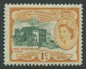 STAMP STATION PERTH St Kitts Nevis #121 QEII Definitive MNH 1954-1957
