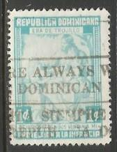 Dominican Republic RA19a VFU Y846-3