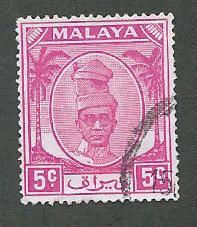 Malaya-Perak  Scott 120  Used