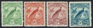 NEW GUINEA 1931 DATED BIRD 1D - 3D */**