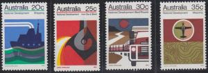 Australia 550-553 MNH (1973)