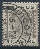 Cyprus  SG 119 Used  see detail and scan