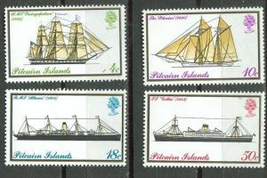 Pitcairn # 147-50 Mailboats   (4)  Mint NH