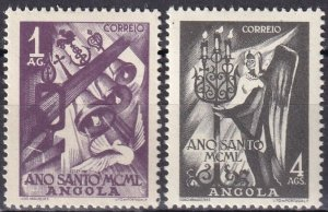 Angola #331-2  F-VF Unused CV $7.60  (Z6268)
