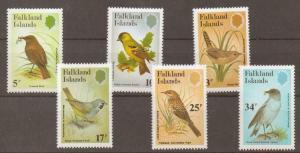 FALKLAND ISLANDS SG433/8 1983 BIRDS MNH