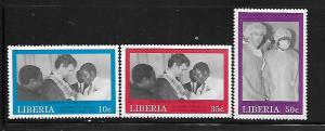 LIBERIA, 1110-1112, MNH, SMILE TEAM