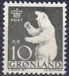 Greenland #65 MNH CV $5.00  (K2742)