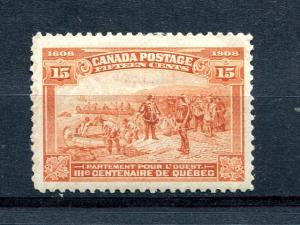 Canada #102 Mint VF LH