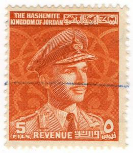 (I.B) Jordan Revenue : Duty Stamp 5f