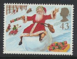 Great Britain SG 2009 Used    Christmas 1997  SC# 1779