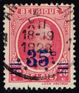 Belgium #193 King Albert I - Surcharged; Used (0.25)