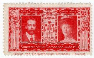 (I.B) Cinderella Collection : George V Coronation 1911