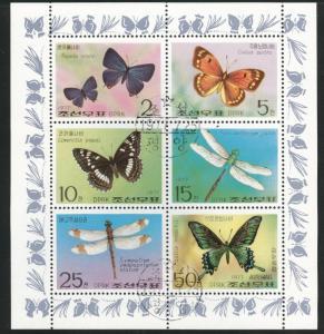 Korea DPRK Scott 1601a Used CTO 1977 stamp sheet