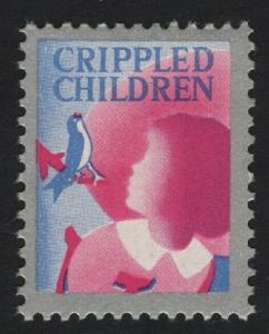 UNITED STATES Crippled Children CINDERELLA  - BARNEYS