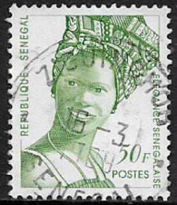 Senegal #1250 Used Stamp - Senegalese Fashion