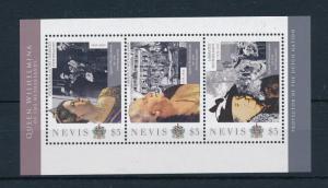 [81057] Nevis 2011 Second World war Dutch Queen Wilhelmina Sheet MNH