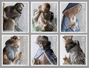 Gibraltar - Christmas - 6  Stamp Set  - GIB0709