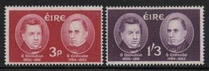 Ireland 1962 Gaelic Scholars set Sc# 182-83 NH