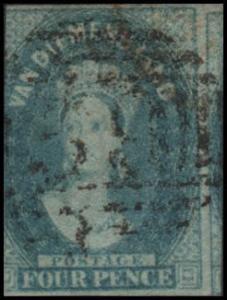Australian States- Tasmania 13 used