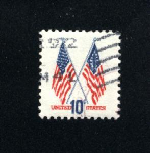 USA #1509  2 used 1973-74 PD .08