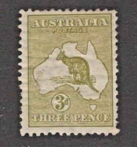 Australia 5a Mint LH Crackly Gum Some Short Perfs CV. $450  (JH 12/2) GP