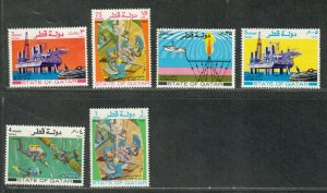 Qatar Sc#311-316 M/NH/VF, Cv. $38