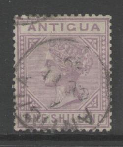 ANTIGUA SG30 1886 1/= MAUVE FINE USED