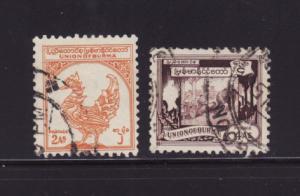 Burma 106, 110 U Various