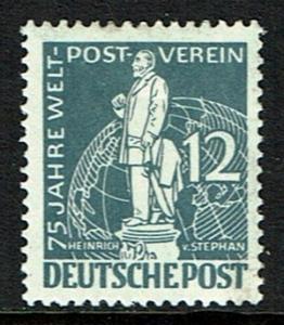 Germany Berlin 9N35 Unused - Postal Director Heinrich von Stephan - 1949