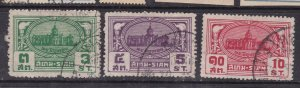 SIAM ( Thailand )  ^^^^1939  sc# 234-236   used SET$$ @ lar 4015siam