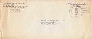 United States Marine Corps Navy Dept. U.S. Fleet Weather Central, Marine Corp...