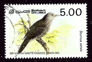 Sri Lanka 838 Used 1987 Bird    (ap3476)