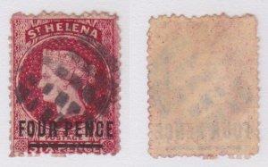 St. Helena #21 used CV $72.50