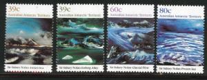 AUSTRALIA Antarctic Territory Scott L77-80 MNH** 1989