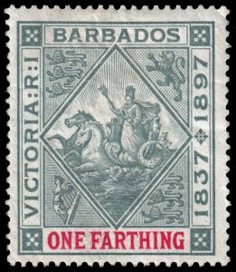 Barbados  - Scott 81 - Mint-Hinged - Gum Damage