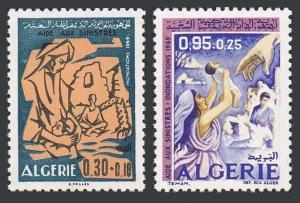 Algeria B102-B103,MNH.Michel 535-536. Flood victims,1969.
