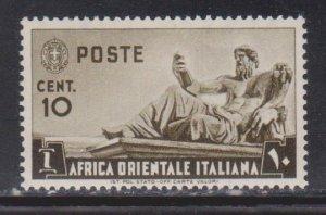 ITALIAN EAST AFRICA Scott # 4 MH