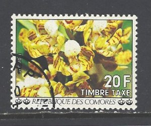 Comoro Islands Sc # J11 used (DT)