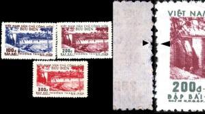 Vietnam Democratic Republic of #47a-49a Bai Thuong Bridge See Details tab
