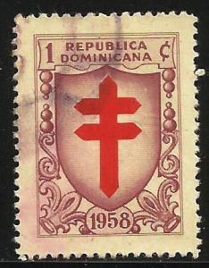 Dominican Republic Postal Tax 1958 Scott# RA27 Used