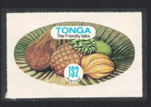 Tonga Fruits Coil stamp Imperf Self-adhesive T$2.00 SG#689a