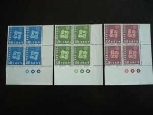 Europa 1961 - Portugal - Set - Blocks with Selvedge