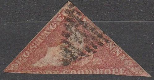 Cape Of Good Hope #3 Fine Used CV $325.00   (S741)