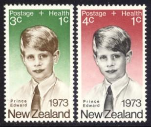 New Zealand MH B87-8 Prince Edward 1973