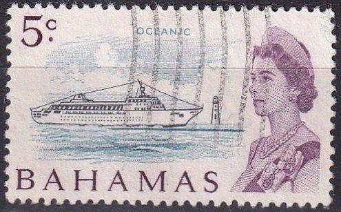Bahamas #256 F-VF Used CV $4.50 (Z2472)