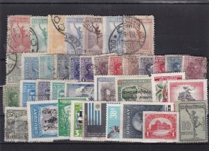 uruguay stamps ref 11914