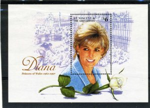 St. Vincent Grenadines 1997 PRINCESS DIANA s/s Perforated Mint (NH)